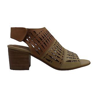 Comfortiva Dames Ally Lederen Peep Toe Casual enkelband sandalen