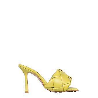 Bottega Veneta 608854vbss07602 Kvinder's Grønne læder sandaler