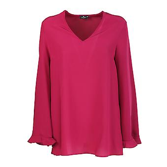 Etro 1913280020302 Women's Fuchsia Silk Blouse