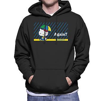 Hello Kitty Rain Again Men's Hooded Sweatshirt