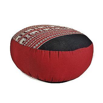 40Cm Kapok Filled Zafu Ottoman Pouf Round Meditation Cushion Redele