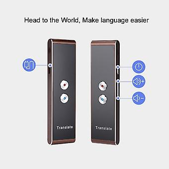 Portable Wifi Voice Translator Two-way Real Time With  40 Multi-language