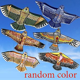 Children Cartoon Animal Kites 1.1m Animal Kite 30m Flying Line Cord Random Color (1pc Random Color)