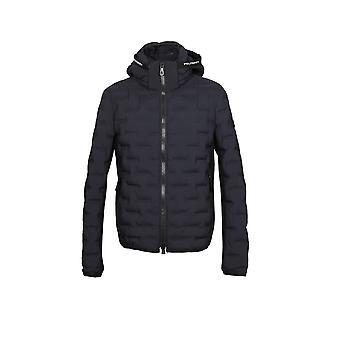 Peuterey Peu369201191514black Men's Black Nylon Down Jacket