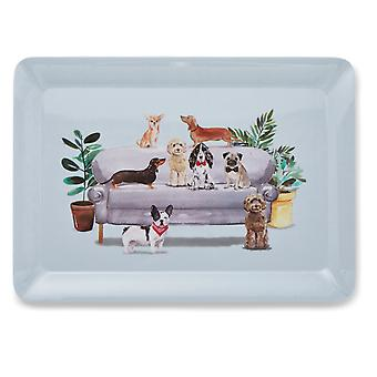 Cooksmart Curious Dogs Large Tray