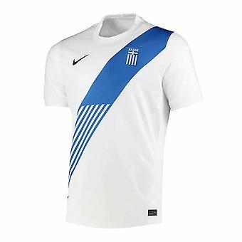 2020-2021 Grekland Hem Nike Fotboll Shirt