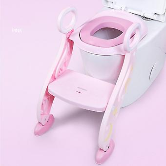 Toilet Seat Step - Stool With Ladder