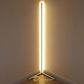 Moderni led kulma lattia valaisin tunnelma valot värikäs makuuhuone,