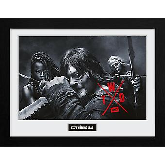 The Walking Dead Seizoen 10 Group Collector Print
