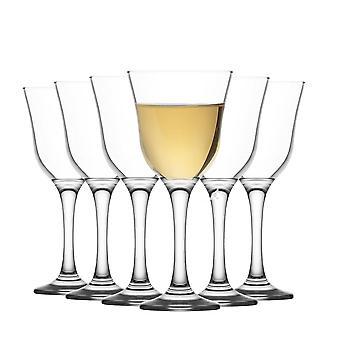 LAV Vals Vintage Gafas de Vino Blanco - 250ml - Pack de 6 Cálices