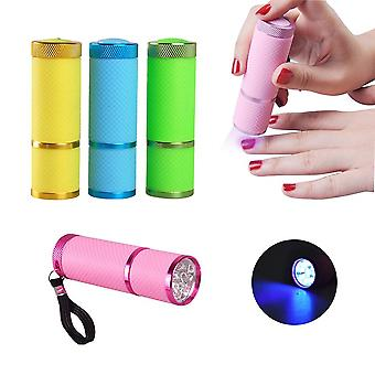 Nail Dryer Mini Led Lampe de poche - Lampe Uv Portable Pour Nail Gel Fast Dryer Cure