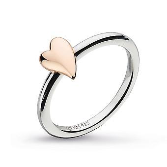كيت هيث الرغبة قبلة أحمر الخدود القلب ارتفع خاتم الذهب 20503RRP