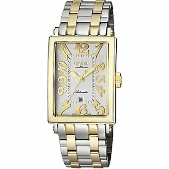 Gevril 5063B Men's Avenue of Americas Automatic Two-Tone Steel Date Wristwatch