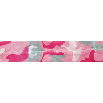 Balboa DC276 100% bomull Cooldanna - rosa kamouflage