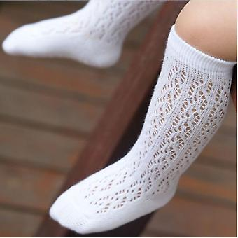 Baby Girl Kid Soft Cotton Knee High Socks Stockings