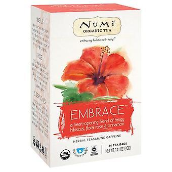 Numi Tea Hibiscus - Embrace Holistic Tea, 16 Bags