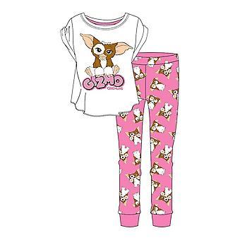 Women's Gremlins Cute Gizmo Character Pyjama Set