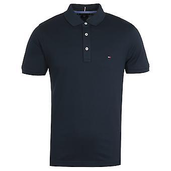 Tommy Hilfiger Slim Fit Tommy Camiseta Polo en azul marino
