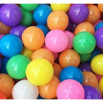 Pool Balls Soft Plastic Ocean For Playpen Colorful Stress  Juggling Sensory