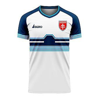 Slovaquie 2020-2021 Home Concept Football Kit (Libero)