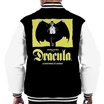 Dracula Nightmare Of Horror Men's Varsity Jacket