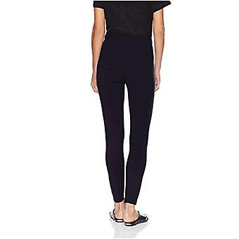 Brand - Daily Ritual Women's Seamed Front, 2-Pocket Ponte Knit Legging, Navy, X-Small Short