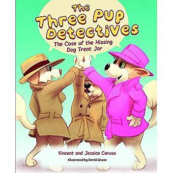 De drie Pup Detectives: De zaak van de vermiste hond behandelen Jar