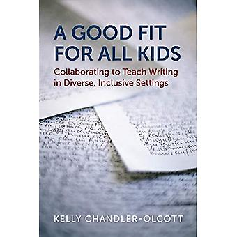 Een goede pasvorm voor alle kinderen: samenwerken om te leren schrijven in diverse, inclusieve instellingen