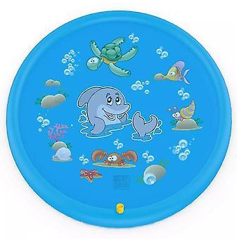 Sprinkle And Splash Play Mat, 170 cm di acqua Splash Pad Giocattolo