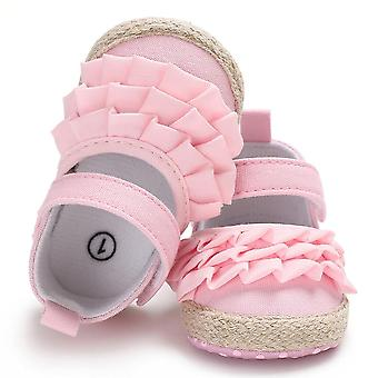 Newborn Infant Baby Soft Sole Crib Shoes