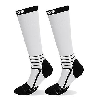 Homens-mulheres knee-high, Leg Support Compression Socks