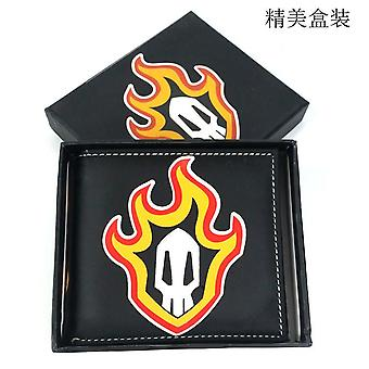 PU leather Coin Purse Cartoon anime wallet --BLEACH # 734