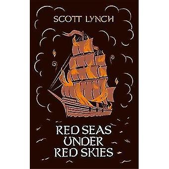 赤い空の下の紅海
