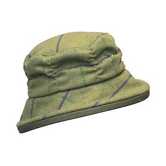 Walker och Hawkes - Damer Tweed Rouche Style Hat