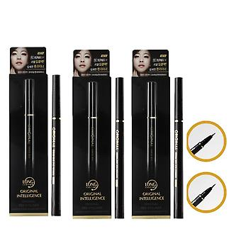Fine Black Liquid Eyeliner. Pack Of 3 ! Make-up Eye Eyeliner