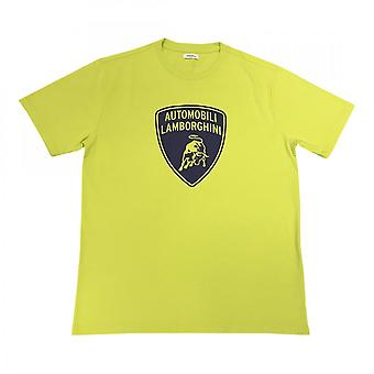 Lamborghini Mens Shield Print Ss T-shirt