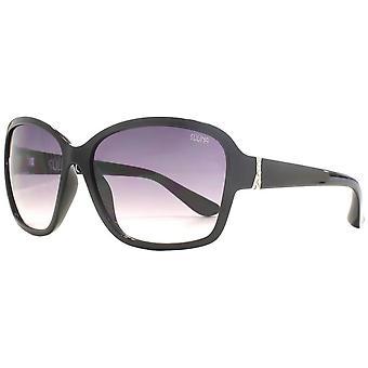 Suuna Classic Oval Sunglasses - Black