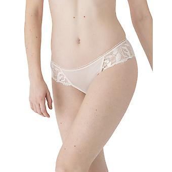 Maison Lejaby Sin 19163-W0003 Women's Milk Floral Embroidered Bikini Brief