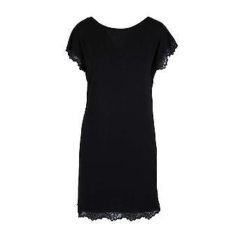 LingaDore 6407-02 Women's Black Nightdress