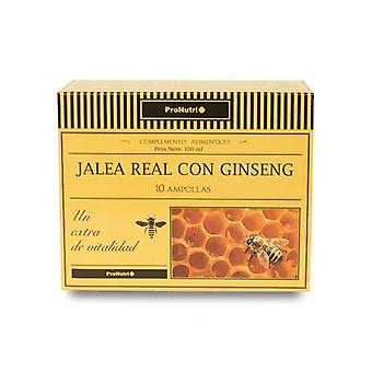 Pronutri Jalea Real con Ginseng 10 Ampoules