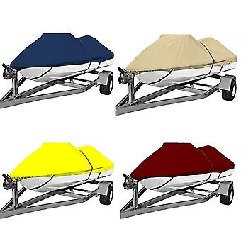 """Polyester Jet Ski Cover, Pwc Size:l 115-135"""" Boat Cover,pwc Suit 292-343cm"""