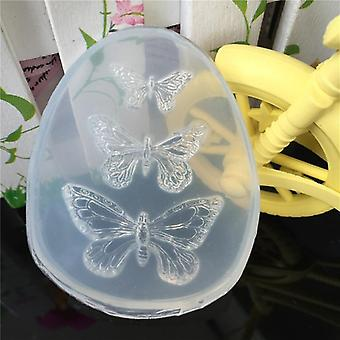 1pcs Uv Resin Liquid Silicone-charms Mold