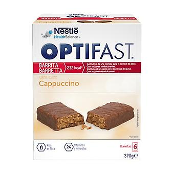 Optifast Cappuccino Bars 6 bars