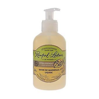 Hypoallergenic and certified organic, liquid Marseille soap 250 ml