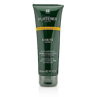 Rene Furterer Karite Nutri Nourishing Ritual Intense Nourishing Mask - Very Dry Hair (Salon Product) 250ml/8.7oz