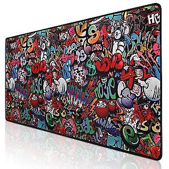 Gamer Mousepad Xxl Mouse Mat Grande scrivania Mat Computer Tastiera Mouse Pad da gioco