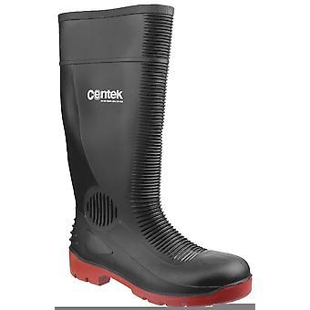 Centek fs338 toe cap safety wellingtons womens