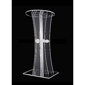 Transparentes Design Günstige klare Acryl-Lectern