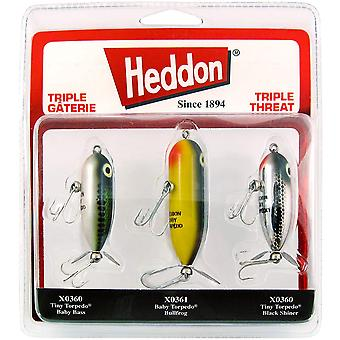 Heddon Triple Threat Varying Weights Fishing Lures