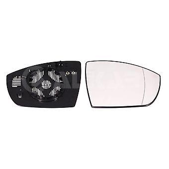 Høyre driver side vinge speil glass (oppvarmet), lett å passe